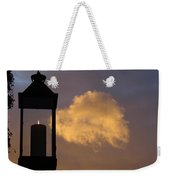 Sunset Candle Weekender Tote Bag