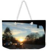Sunset Cars Weekender Tote Bag