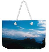 Sunset Cathedral Rock Sedona Arizona Weekender Tote Bag