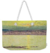 Sunset Weekender Tote Bag by Childe Hassam