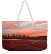 Sunset City Weekender Tote Bag