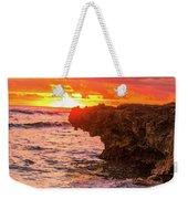 Sunset Cliff Weekender Tote Bag
