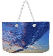 Sunset Cloud Formation Weekender Tote Bag