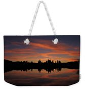 Sunset Colors Weekender Tote Bag