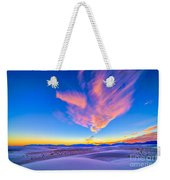 Sunset Colors Over White Sands National Weekender Tote Bag