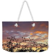 Sunset Colors To The West Weekender Tote Bag