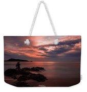 Sunset Couple Weekender Tote Bag