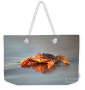 Sunset Crab Weekender Tote Bag