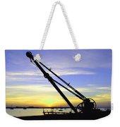 Sunset Crane Weekender Tote Bag