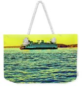 Sunset Cruise On The Ferry Weekender Tote Bag