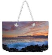Sunset Curl Weekender Tote Bag