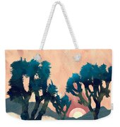 Sunset Desert Canyon Weekender Tote Bag
