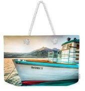 Sunset Dinner Cruise Weekender Tote Bag