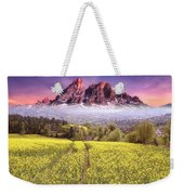 Sunset Fields Weekender Tote Bag