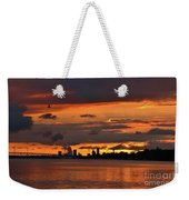 Sunset Flight Of The Tern Weekender Tote Bag