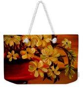 Sunset Floral Weekender Tote Bag