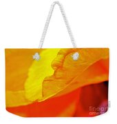 Sunset Flower Weekender Tote Bag