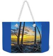 Sunset From Lovers Key, Florida Weekender Tote Bag