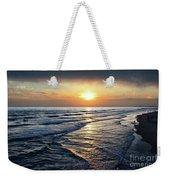 Sunset From Newport Beach Pier Weekender Tote Bag