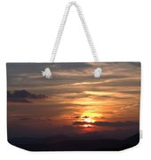 Sunset From The Blue Ridge Parkway Ll Weekender Tote Bag