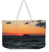 Sunset From The Ferry Weekender Tote Bag