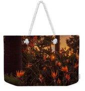 Sunset Garden Weekender Tote Bag