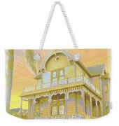 Sunset Gingerbread Weekender Tote Bag