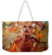 Sunset Girl Weekender Tote Bag