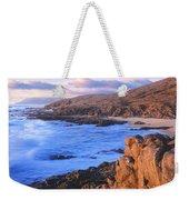 Sunset Glow Along Pacific Coast Weekender Tote Bag