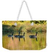 Sunset Goose Weekender Tote Bag