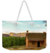 Sunset Grafton Ghost Town Weekender Tote Bag