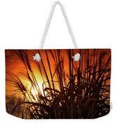 Sunset Grass Weekender Tote Bag