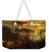 Sunset Grasses Weekender Tote Bag