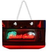 Sunset Grille Weekender Tote Bag