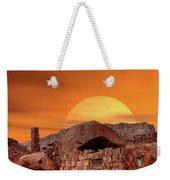 Sunset House Weekender Tote Bag