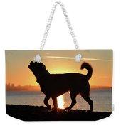 Sunset Howl Weekender Tote Bag