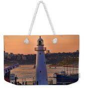 Sunset Hues Cockle Bay Wharf Weekender Tote Bag