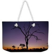 Sunset In Africa Weekender Tote Bag