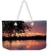 Sunset In Africa Weekender Tote Bag