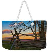 Sunset In Antietam Weekender Tote Bag