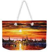 Sunset In Barcelona Weekender Tote Bag