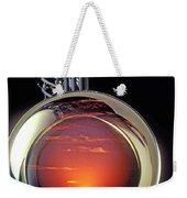 Sunset In Bell Of Sax Weekender Tote Bag