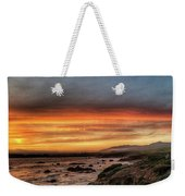 Sunset In Cambria Weekender Tote Bag