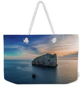 Sunset In Capo Caccia Weekender Tote Bag