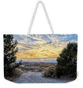 Sunset In El Prado Weekender Tote Bag