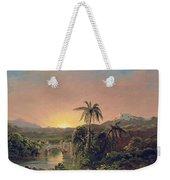 Sunset In Equador Weekender Tote Bag