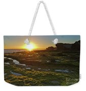 Sunset In Gale Beach. Albufeira, Portugal Weekender Tote Bag