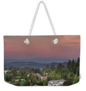 Sunset In Happy Valley Weekender Tote Bag