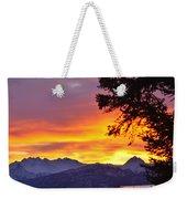 Sunset In Homer Alaska Weekender Tote Bag