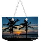 Sunset In Key West Weekender Tote Bag